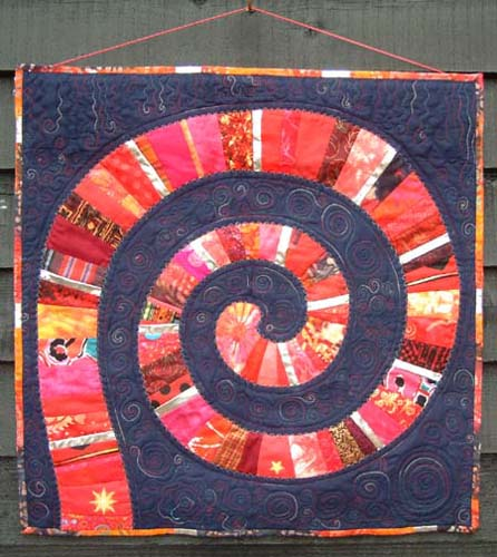 Helen Howes Textiles - Classes - Spiral Quilt : spiral quilts - Adamdwight.com